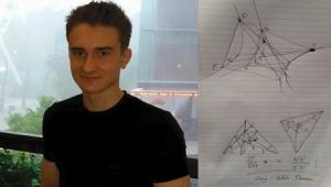 ตะลึง! หนุ่มอัจฉริยะวัย 17 ปี ค้นพบทฤษฎีที่อาจเป็นกุญแจสำคัญไขปริศนาจักรวาล