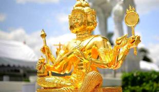 เคล็ดบูชาพระพรหมขอลาภ(บทนี้ใช้เฉพาะขอลาภอย่างเดียวเท่านั้นตำรับขรัวตาแสง วัดมณีชลขัณฑ์)