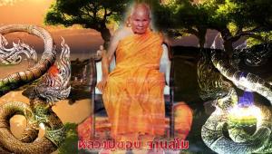 """หลวงปู่ชอบ!!!... เล่าเรื่อง """"พบลูกพญานาคเล่นน้ำ"""" ที่ลำธารกลางป่าเมืองเจียงทอง ประเทศพม่า"""
