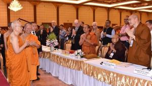 สมเด็จพระสังฆราช เสด็จเปิดประชุมสัมนาวิชาการพุทธศาสนาระดับนานาชาติ เนื่องในวันวิสาขบูชา พร้อมประทานธรรมกถา