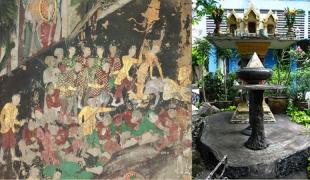 สุดสยอง ขนลุกซู่ !!! ทหารพม่าแห่งวัดสุวรรณารามราชวรวิหาร ที่มาของศาลแปลกตากับเหตุผลสุดสะพรึง !?! ประวัติศาสตร์ที่ขาดหาย !!!