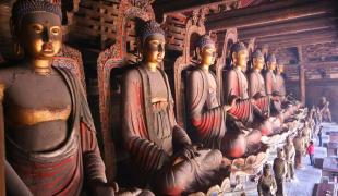 พระพุทธเจ้า 7 พระองค์ แห่งวัดเฟิ่งกั๋ว (奉国寺)