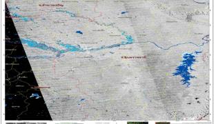 จิสด้าเผยภาพถ่ายพื้นที่น้ำท่วมล่าสุด