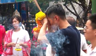 พระพรหมเอราวัณยังฮิตในหมู่ชาวจีน