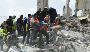 เม็กซิโกแผ่นดินไหวขนาด7.1 ตึกถล่มนับสิบ ตายเกินร้อย