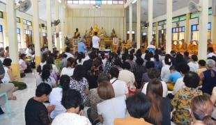 ชาวไทยพุทธนราธิวาส สืบสานประเพณีวันสารทเดือนสิบ