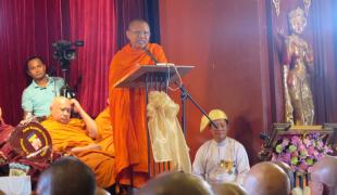 ชาวพุทธเอเซีย ร่วมประชุมที่เมียนมาร์ ตั้งประชาคมพุทธศาสนิกชนเอเชีย ต่อยอดโครงการธรรมยาตราห้าแผ่นดิน