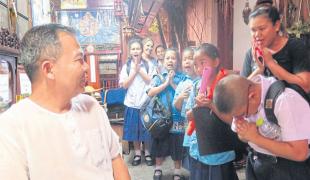 ธรรมเปลี่ยนชีวิตฮาร์ตันโต ชาวอินโดนีเซีย ให้มาช่วยเด็กด้อยโอกาสในไทย