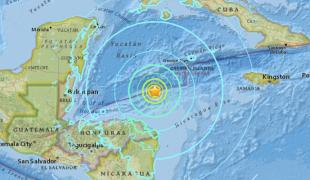 แผ่นดินไหว 7.6 นอกฝั่งฮอนดูรัส เตือนสึนามิ
