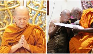 """เป็นที่ประจักษ์!! ภารกิจสำคัญของพระไทย """"พระอาจารย์อารยวังโส"""" มุ่งมั่นเผยแผ่พุทธศาสนาแก่ชาวโลก จนได้รับคำยกย่องจาก""""พระสังฆราชา""""แห่งศรีลังกา!!"""