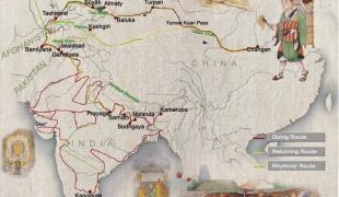 พระถังซำจั๋ง ผู้อัญเชิญพระไตรปิฎกจากอินเดียสู่จีน