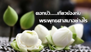 ดอกบัวเกี่ยวข้องกับพระพุทธศาสนาอย่างไร