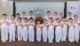 เผยโฉม 12 เยาวชน สามเณรปลูกปัญญาธรรม ปี 7 ชูแนวคิด ความรักจักรวาล รัก เรียน เพียร ให้