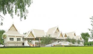 อาคารโพธิญาณมหาวิชชาลัย ที่พักผู้ปฏิบัติธรรมพุทธมณฑล