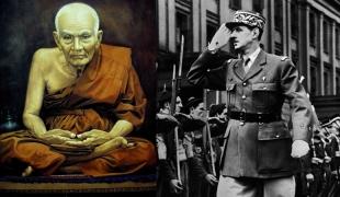 """ประธานาธิบดีฝรั่งเศส ให้สัมภาษณ์กับนักข่าวสารคดีดัง ว่า """"ที่รอดตาย เพราะ พระดีที่เมืองไทย"""""""
