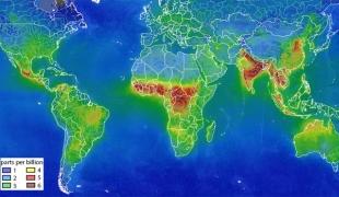 ดาวเทียมยุโรปพบสภาพอากาศเหนืออินเดีย-ไทย เสี่ยงปัญหามลพิษ