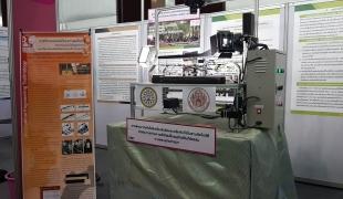 """งานวิจัยแห่งชาติ61! """"ม.สงฆ์มจร""""โชว์พุทธนวัตกรรม เครื่องถ่ายคัมภีร์ใบลานเครื่องแรกของโลก"""