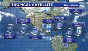 สุดประหลาด….! เกิดพายุหมุนพร้อมกันบนโลก 10 ลูก