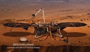 """นาซาเผยเสียง """"ลมดาวอังคาร"""" ให้ชาวโลกฟังเป็นครั้งแรก หลังยานอินไซต์ลงจอด"""