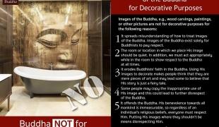 เหตุใดจึงไม่ควรนำภาพแกะสลัก และภาพของพระพุทธเจ้ามาประดับบนฝาผนัง