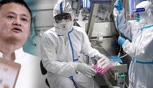 """""""แจ็ค หม่า"""" ควักเงินเกือบ 5 พันล้าน ซื้ออุปกรณ์การแพทย์ และพัฒนาวัคซีนเพื่อช่วยชีวิตคนทั้งโลก"""