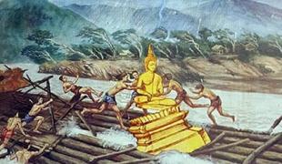 เปิดตำนาน ๓ พระพุทธรูปลอยน้ำ ข้ามโขงมาไทย!