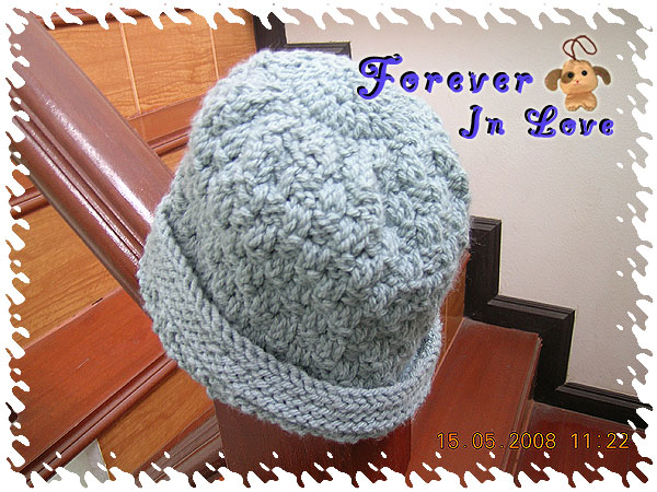 First my knitting hat