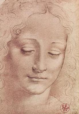 Testa di Giovinetta Leonardo da Vinci 102411