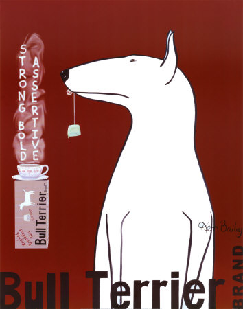 AB51173~Bull Terrier Tea Posters