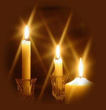 เทียนส่องสว่าง