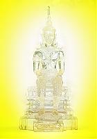ภาพพระวิสุทธิเทพ พื้นหลังเหลือง   อินเตอร์เน็ตเอ็กซ์พรอเลอ