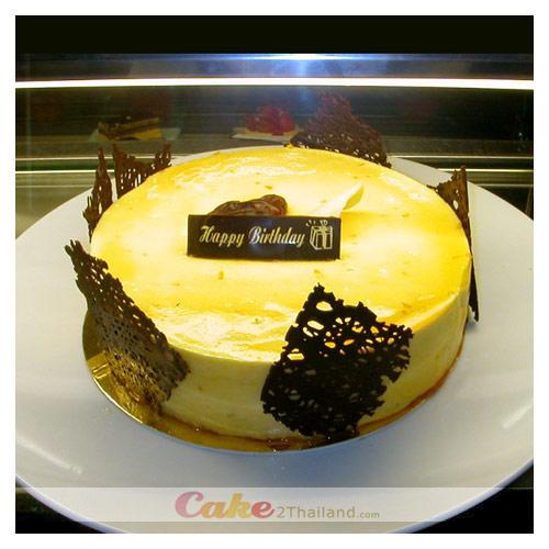 Orange Date Cake