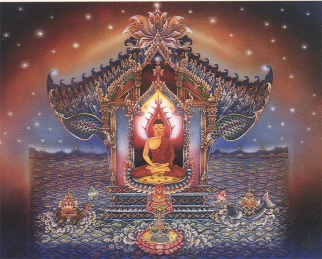 Multicolor Buddha