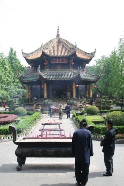 2275669 Taoist momks at the Green Ram Temple Chengdu 0