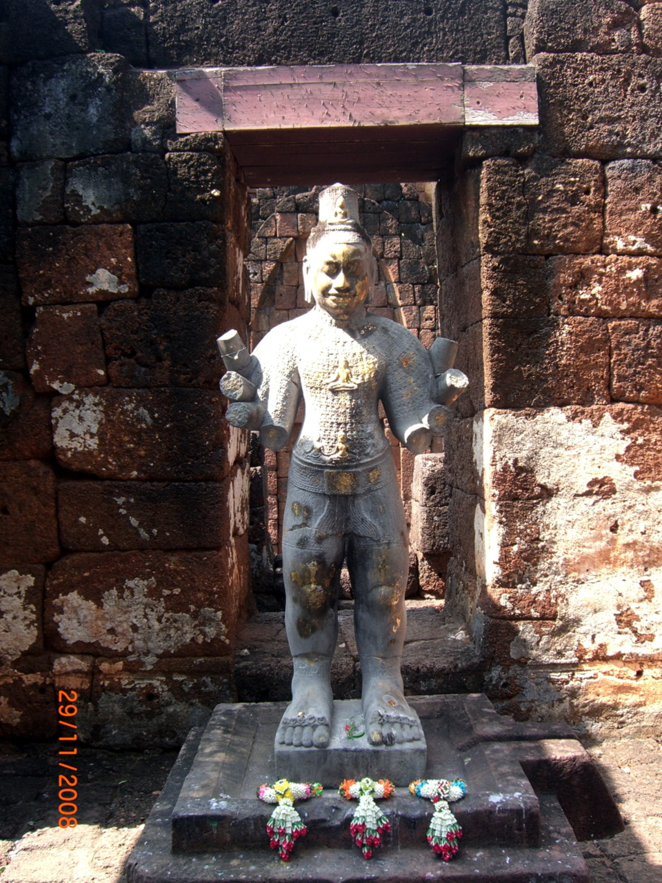 Bodhisattva Avalokitesvara statue, Prasat Muang Sing Historical Park, Kanchanaburi, THAILAND