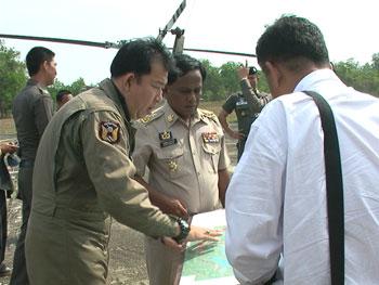 สำรวจพื้นที่ไม้ป่าสงวน สนับสนุน กิจการ ตำรวจป่าไม้