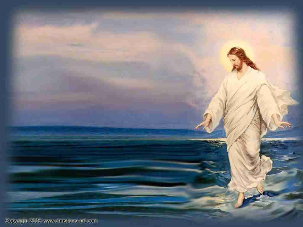 jesus walking on%20water