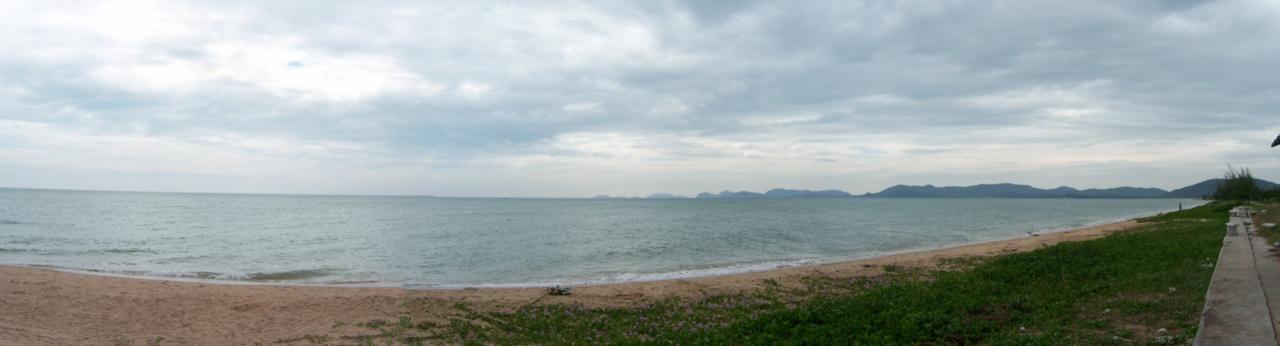 อยู่สัตหีบมองไปทางทิศใต้ทางเกาะจวง