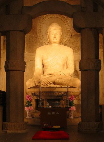 439px Seokguram Buddha
