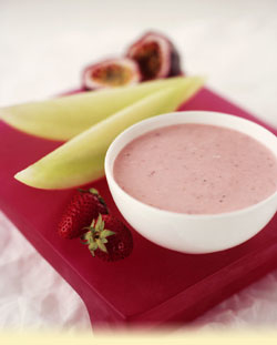 honey strawberry dip