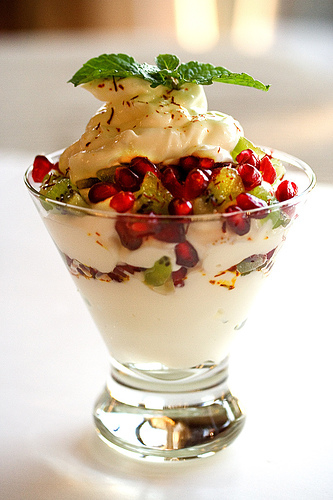 Sweet Yogurt Sundae