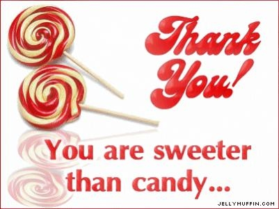 CANDY THANK YOU
