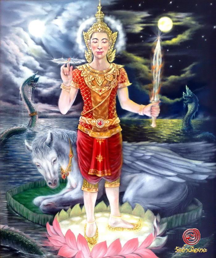 องค์พระพุทธนิมิตปางมหาจักรพรรดิ