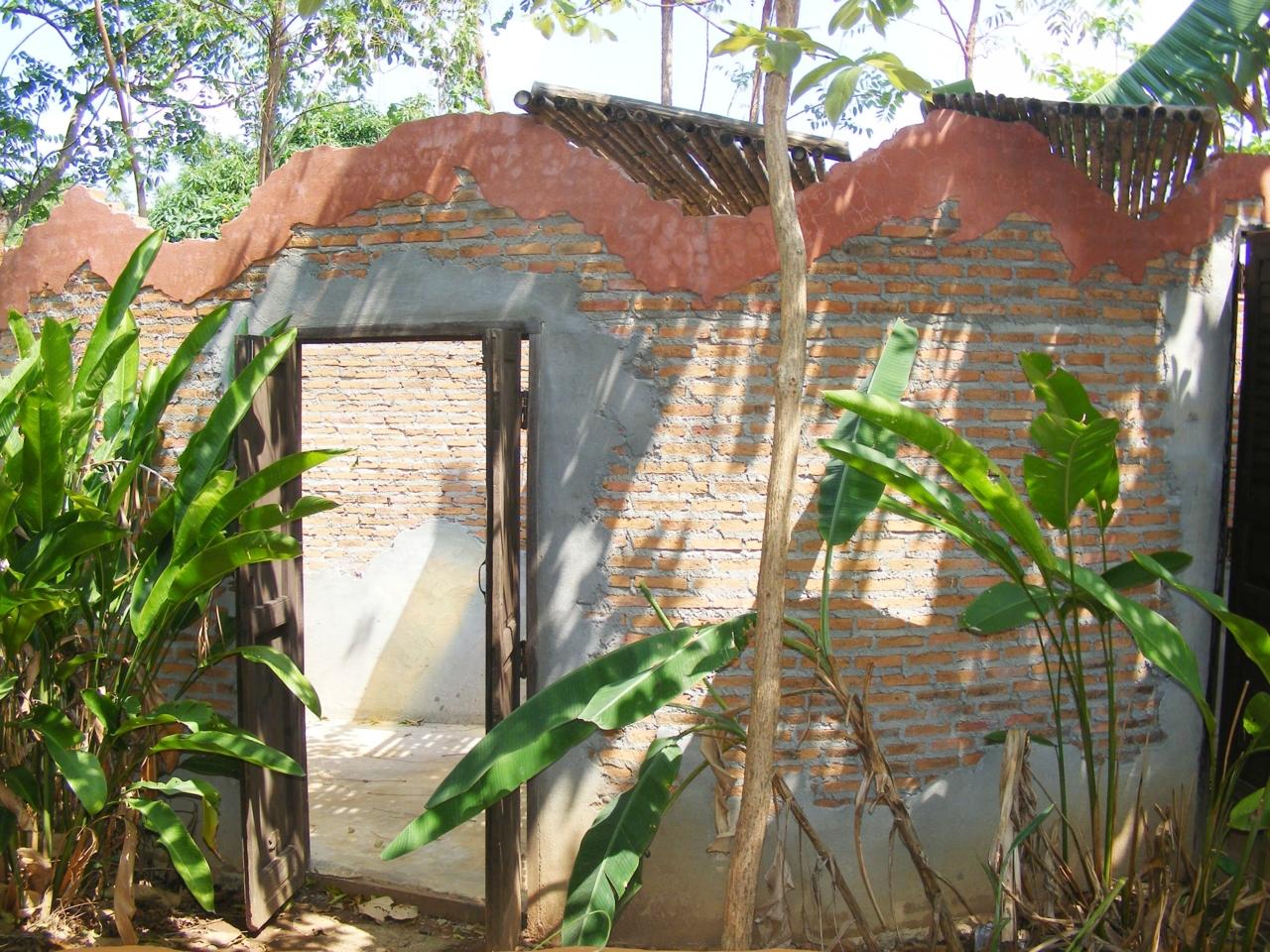 DSCF3536 ห้องน้ำในส่วนบ้านดิน