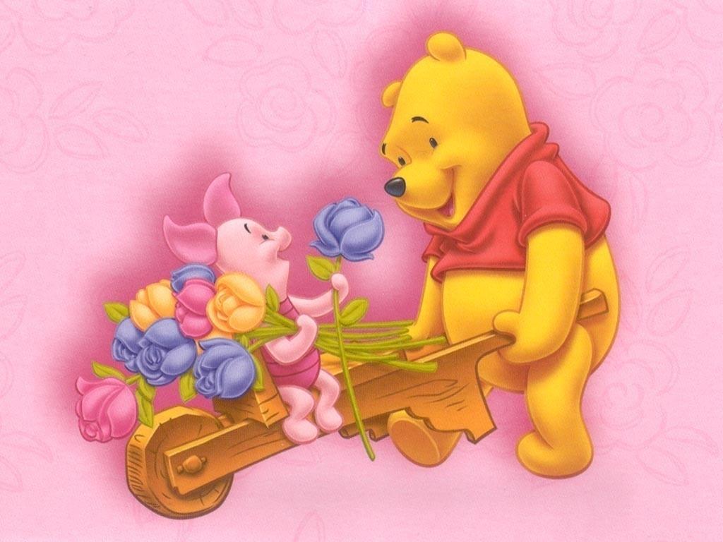 Winnie the Pooh Wallpaper disney 6496438 1024 768%5B1%5D
