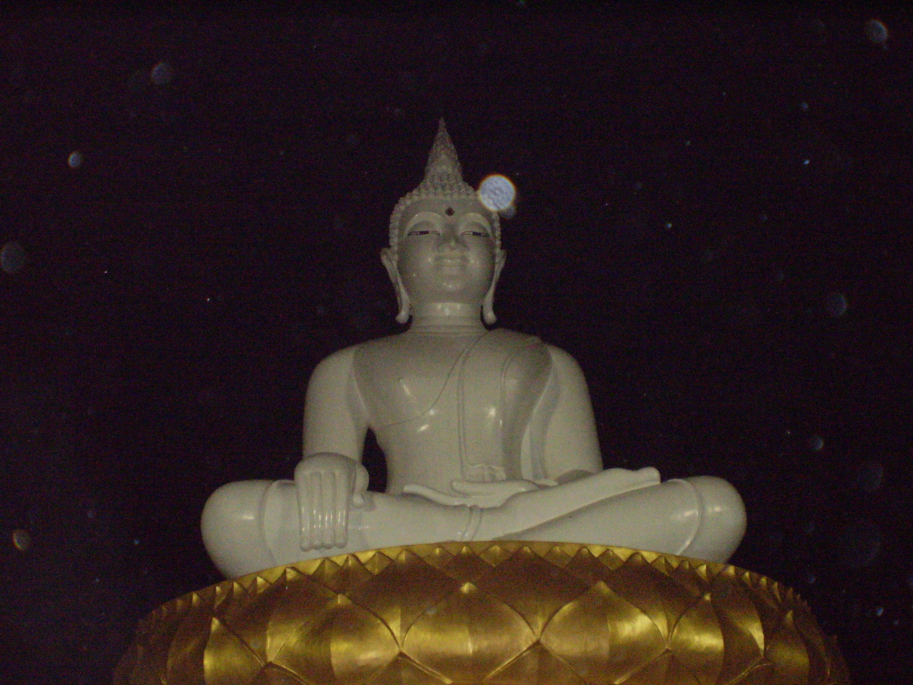วัดถ้ำรัตนบุปผา จ.สระบุรี ในวันพิธีตัดกรรมหน้าองค์พระใหญ่