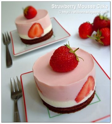 straw mousse
