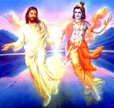 jesus and vishanu
