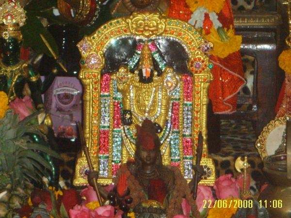 Tirupati Balaji ประดับด้วยทอง และเพชรพลอย