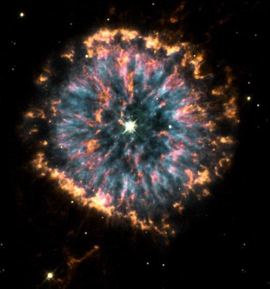 28The Glowing Eye Nebula NGC 6751